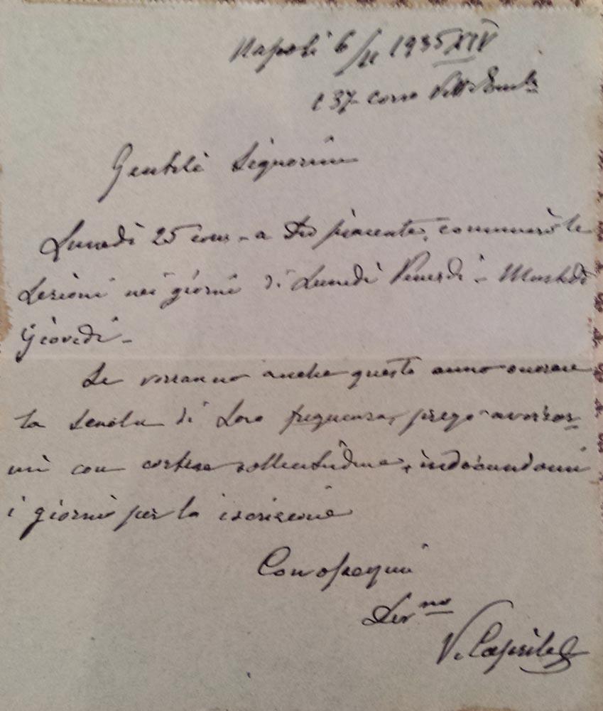 caprile-lettera