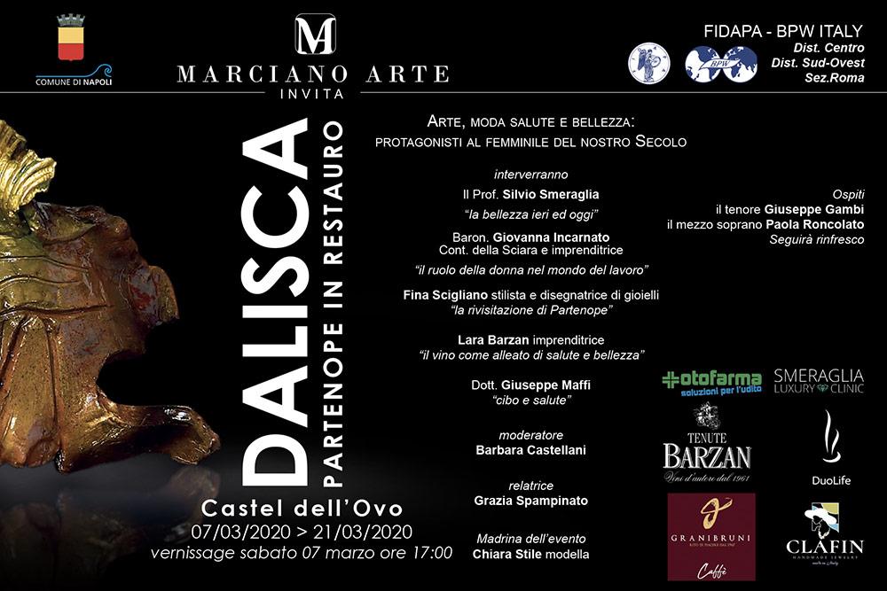 Invito mostra Dalisca