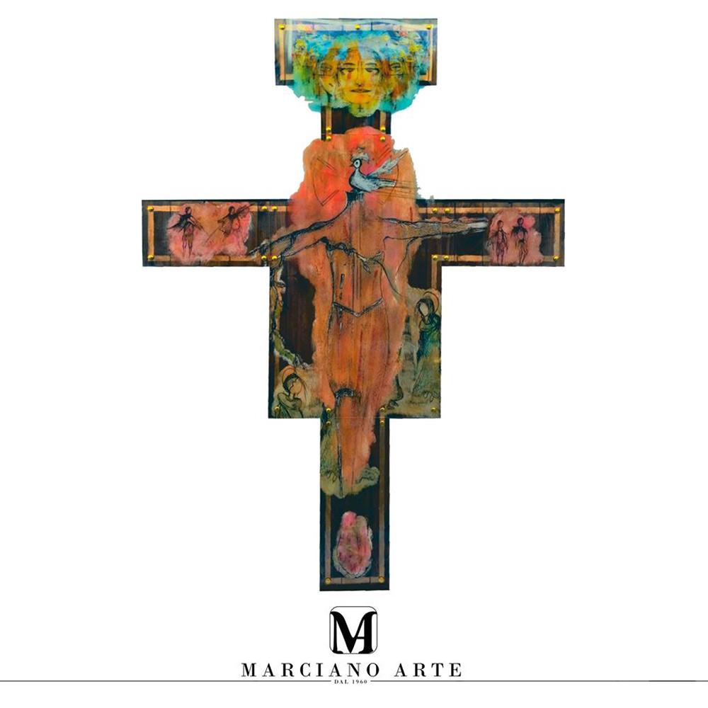 Crocifisso realizzato da Dalisca