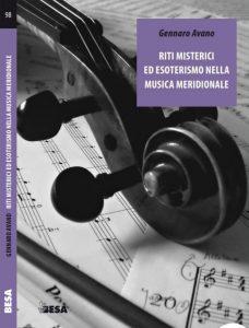 Riti misterici ed esoterismo nella musica meridionale, la copertina del nuovo libro di Gennaro Avano