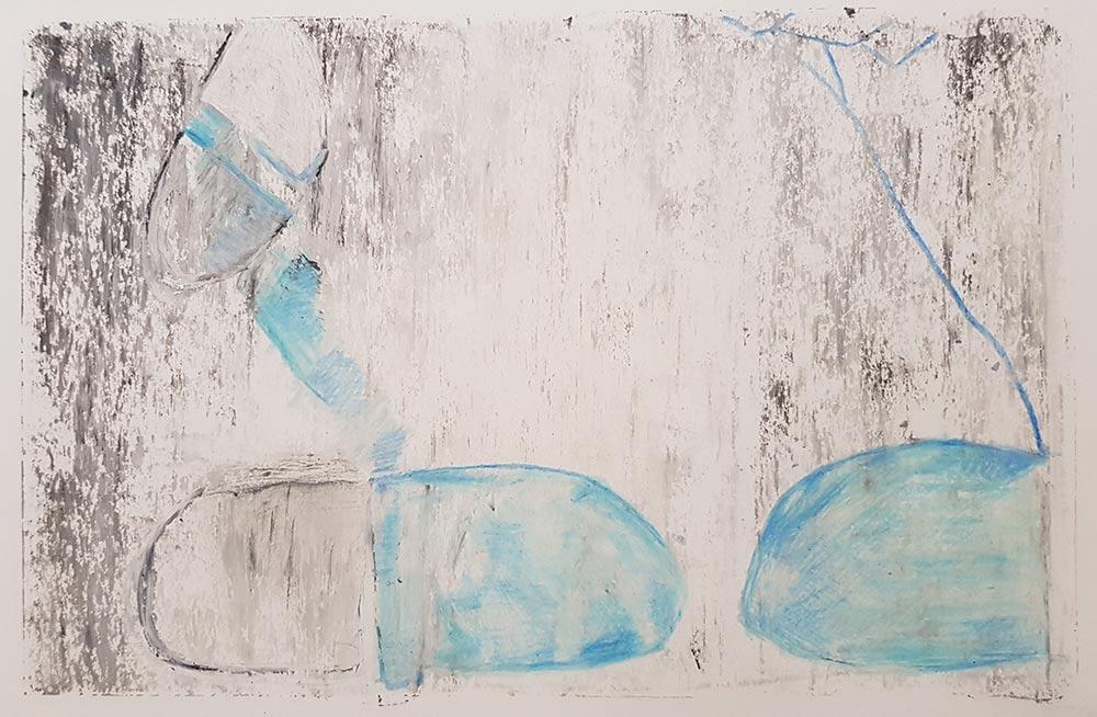 disegno di Eduardo Zanga 18x27 cm
