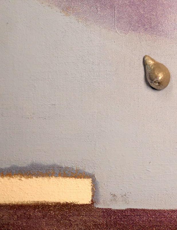"""Foto di Patrizio Garofalo a rappresentare lo """"Spazio"""" in un particolare di un'opera di Giovanni Ricciardi"""