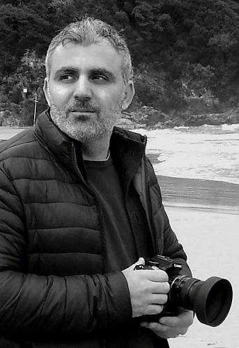 Foro ritratto di Patrizio Garofalo autore del video Tunnel
